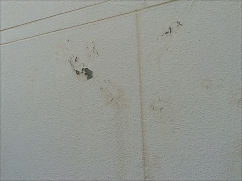 茅野市のパルコンの家高圧洗浄だけで塗膜がベロベロ剥がれました