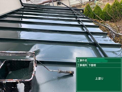 辰野町トタン屋根