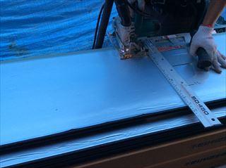 金属サイディングカバー工法