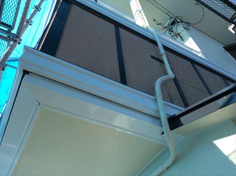 外壁塗装サイディング部分張り