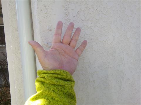 諏訪市で外壁塗装のご相談セキスイFパネルの外壁を下見してきました