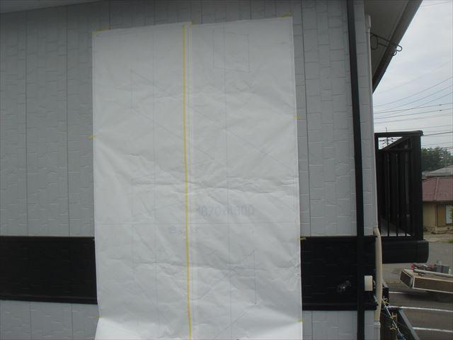 外壁看板塗装トレーシングペーパー