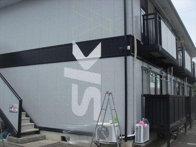外壁看板塗装