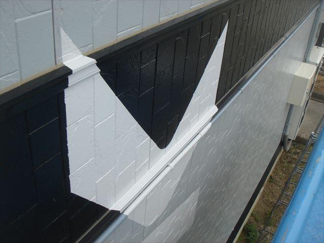外壁看板塗装出隅の処理