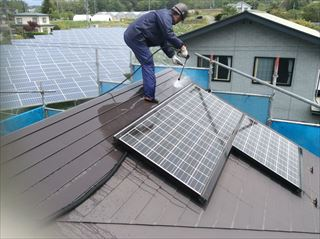 屋根外壁洗浄