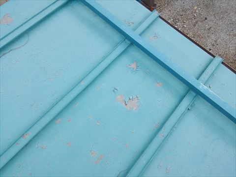 空き家屋根点検