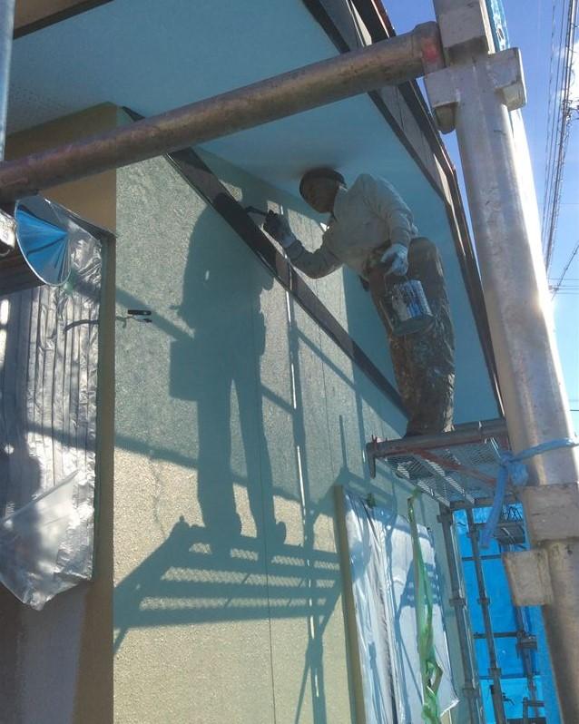 外壁塗装タッチアップ