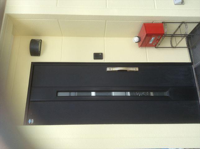 塗装完工玄関廻り