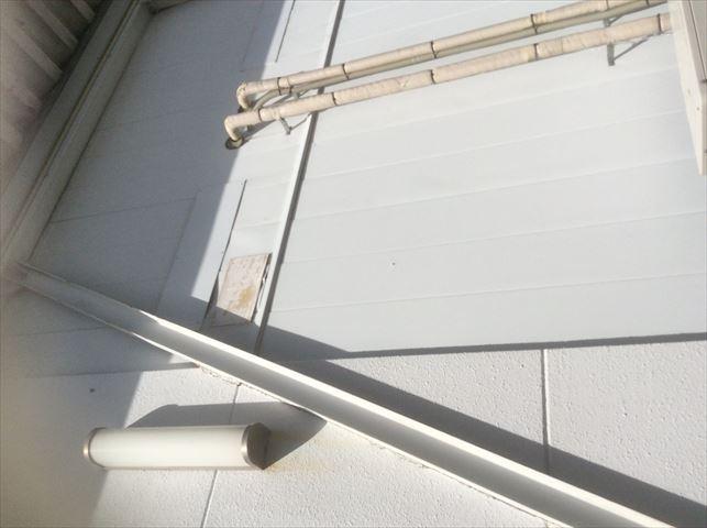 外壁とH鋼