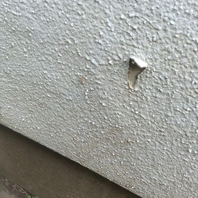 外壁劣化 ハガレ