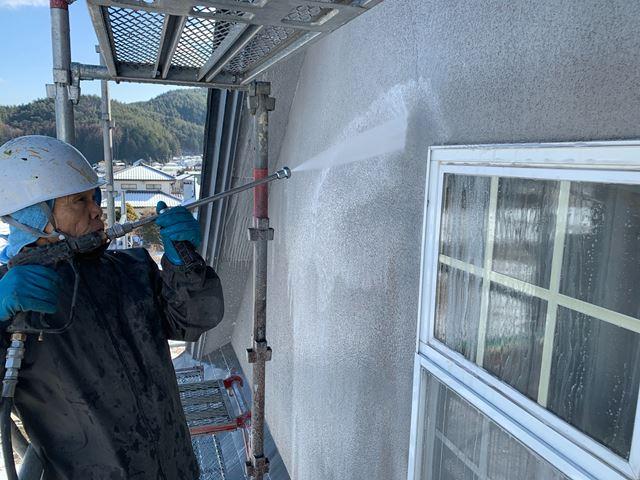 東筑摩郡朝日村 O邸 外壁塗装
