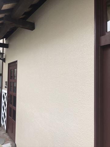 松本市浅間温泉 長屋様邸 外壁モルタル工事
