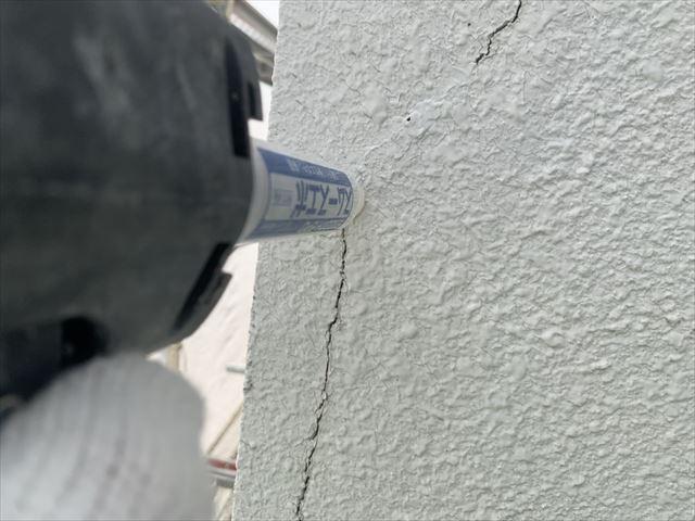 塩尻市大門 K邸 外壁塗装