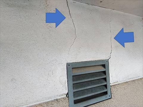 モルタル外壁現調